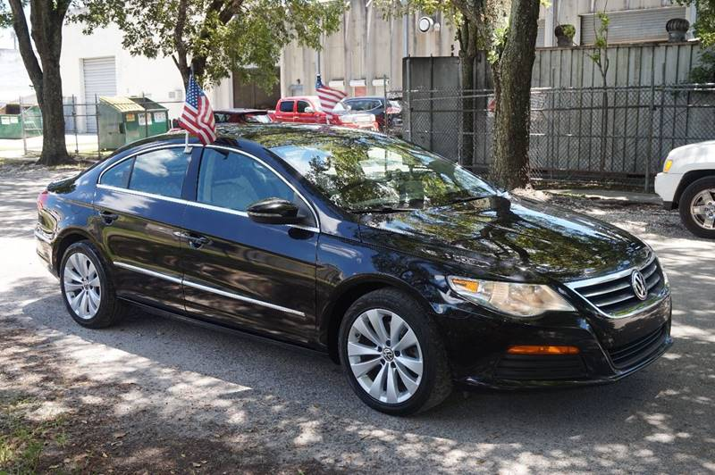 2012 VOLKSWAGEN CC SPORT 4DR SEDAN 6A black  call 888-218-8442 - 888-218-8442 for sales  th