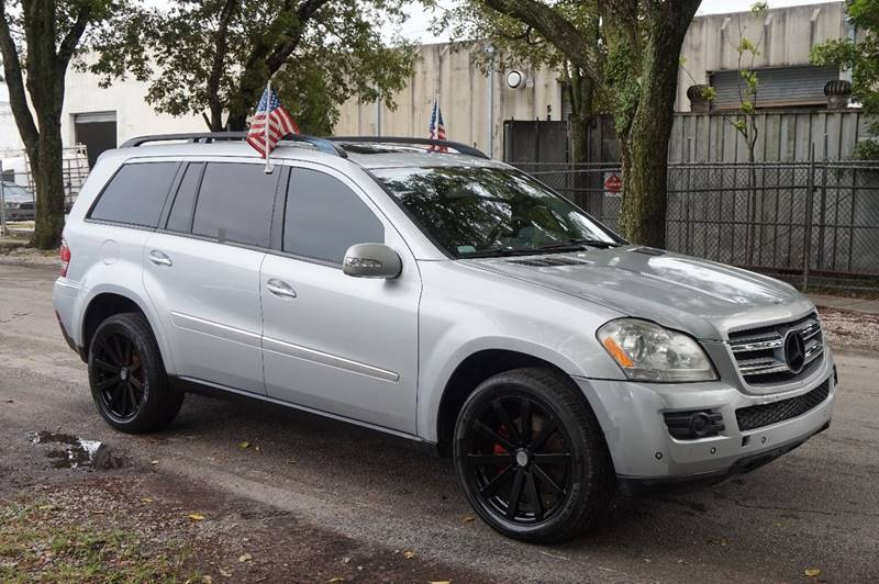 2007 MERCEDES-BENZ GL-CLASS GL 450 AWD 4MATIC 4DR SUV silver  call 888-218-8442 - 888-218-8442