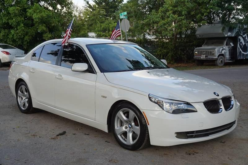 2008 BMW 5 SERIES 535I 4DR SEDAN LUXURY white  call 888-218-8442 for sales  this 2008 bmw 5