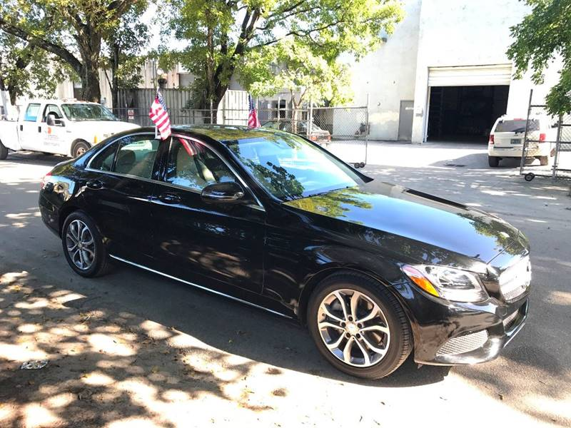 2016 MERCEDES-BENZ C-CLASS C 300 4DR SEDAN black  call 888-218-8442 for sales  this 2016 me
