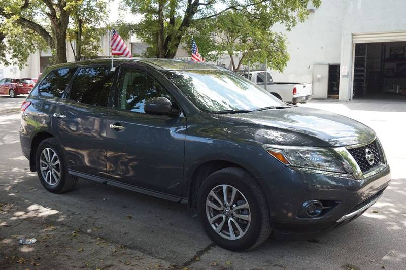 2013 NISSAN PATHFINDER SV 4X4 4DR SUV gray  call 888-218-8442 for sales  this 2013 nissan p