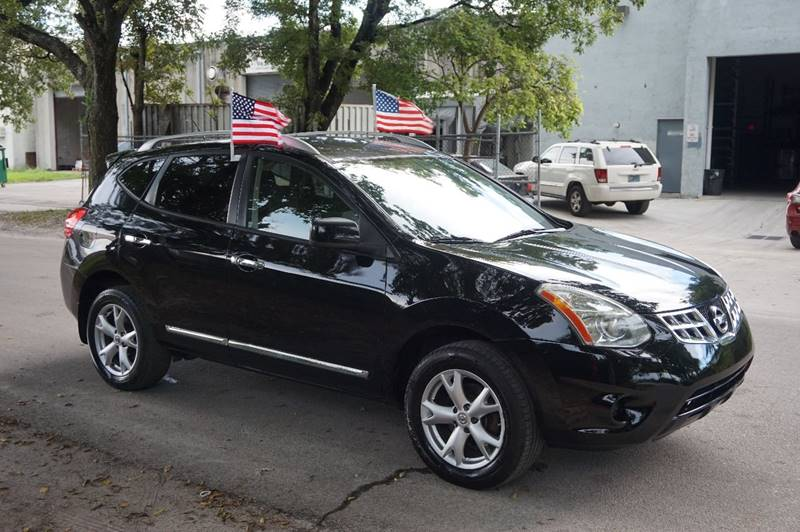 2011 NISSAN ROGUE SV 4DR CROSSOVER black  call 888-218-8442 for sales  this 2011 nissan rou