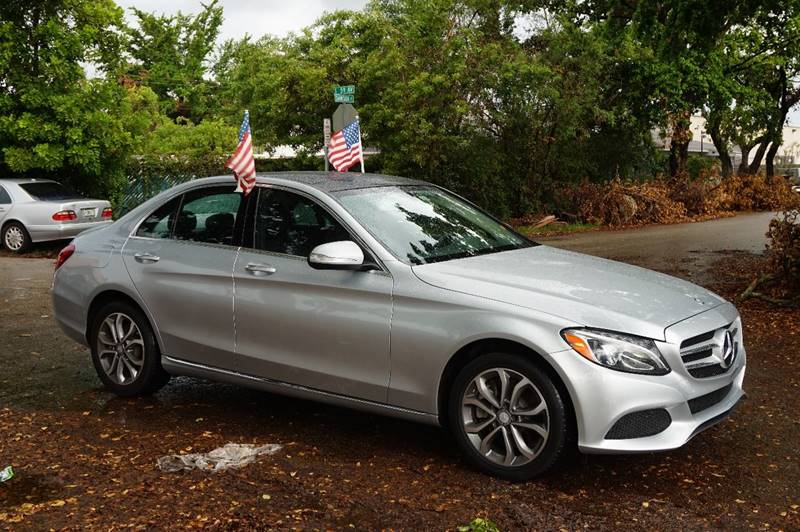 2015 MERCEDES-BENZ C-CLASS C 300 4DR SEDAN silver  call 888-218-8442 for sales  this 2015 m