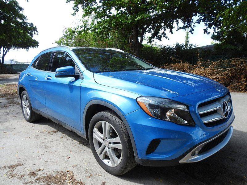 2015 MERCEDES-BENZ GLA GLA 250 4MATIC AWD 4DR SUV blue  call 888-218-8442 for sales  this 2