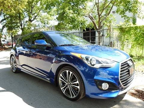 2016 Hyundai Veloster Turbo for sale in Hollywood, FL