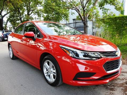 2017 Chevrolet Cruze for sale at SUPER DEAL MOTORS in Hollywood FL