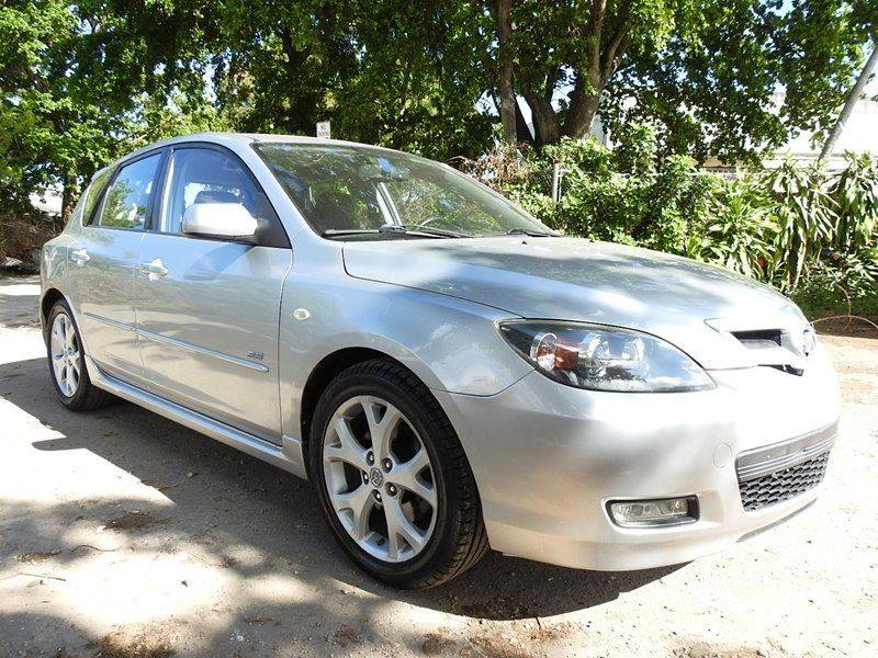 2007 MAZDA MAZDA3 S SPORT 4DR WAGON 23L I4 5A silver  call 888-218-8442 for sales  this