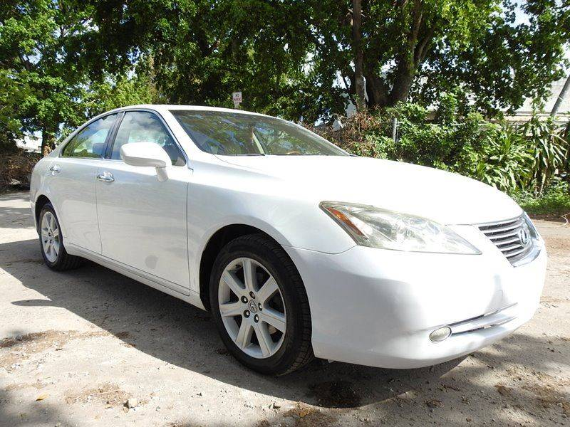 2007 LEXUS ES 350 BASE 4DR SEDAN white  call 888-218-8442 for sales  this 2007 lexus es 350