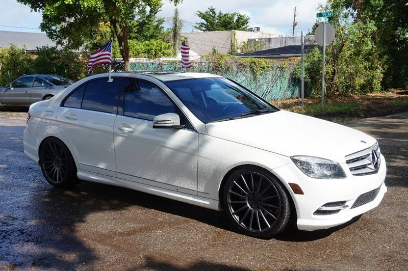 2011 MERCEDES-BENZ C-CLASS C 300 SPORT 4DR SEDAN white  call 888-218-8442 for sales  this 2