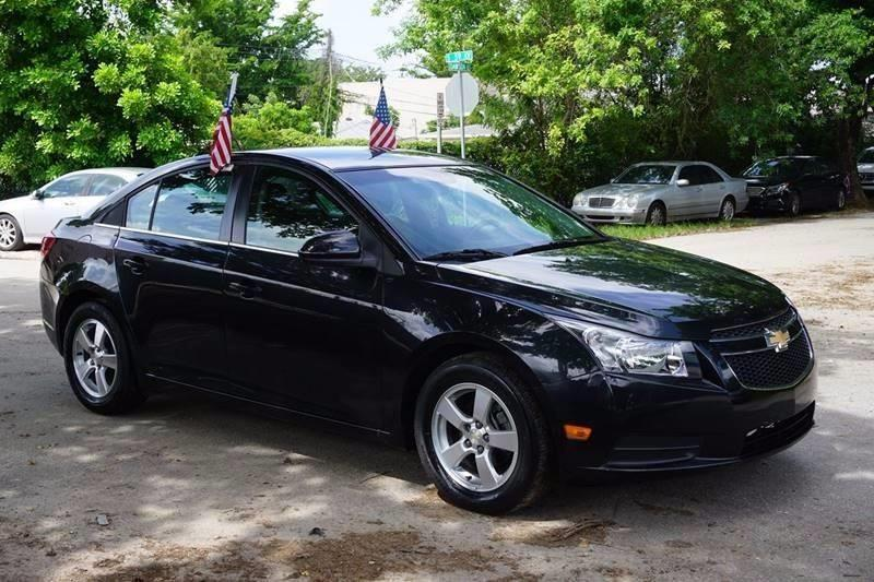 2014 CHEVROLET CRUZE 1LT AUTO 4DR SEDAN W1SD black  call 888-218-8442 for sales  this 2014