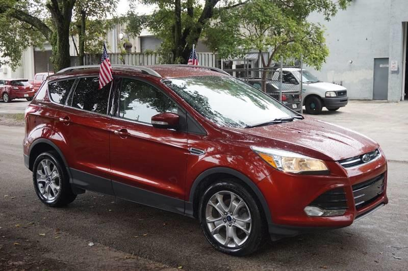 2015 FORD ESCAPE TITANIUM 4DR SUV red  call 888-218-8442 for sales  this 2015 ford escape t