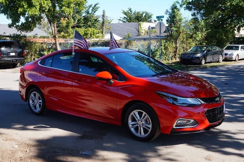 2017 CHEVROLET CRUZE LT AUTO 4DR SEDAN red  call 888-218-8442 for sales  this 2017 chevrole