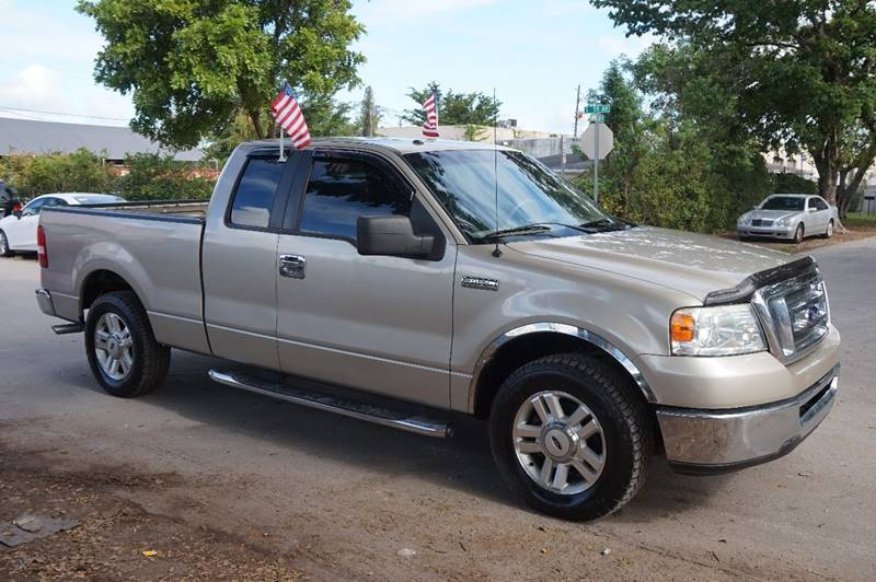 2007 FORD F-150 XLT 4DR SUPERCAB STYLESIDE 55 F gold  call 888-218-8442 for sales  this 20