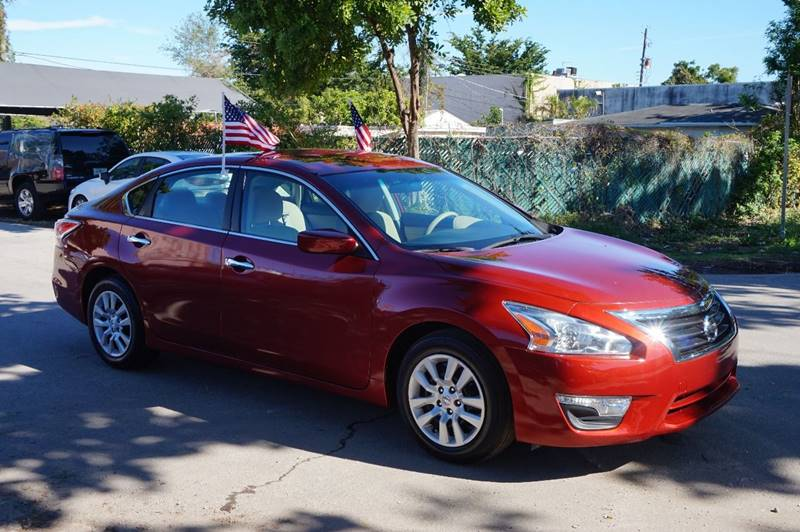 2015 NISSAN ALTIMA 25 S 4DR SEDAN burgundy  call 888-218-8442 for sales  this 2015 nissan