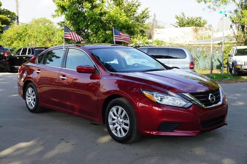 2016 NISSAN ALTIMA 25 S 4DR SEDAN burgundy  call 888-218-8442 for sales  this 2016 nissan