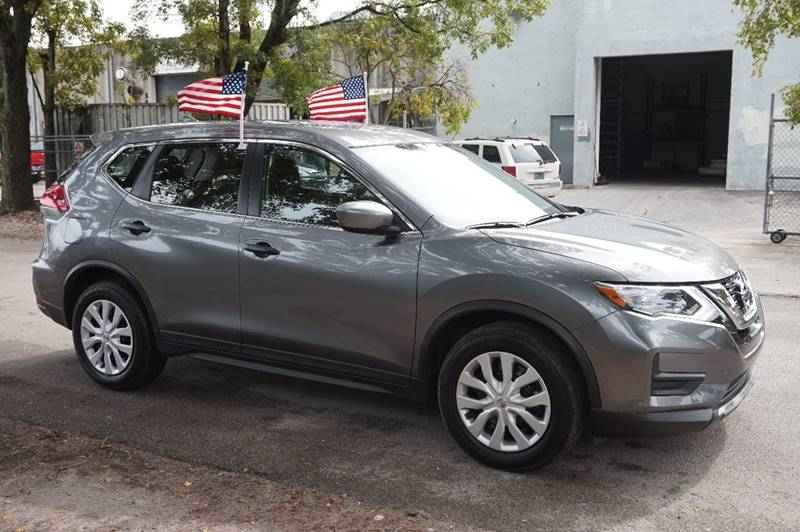 2017 NISSAN ROGUE S 4DR CROSSOVER gray  call 888-218-8442 for sales   vehicle price include