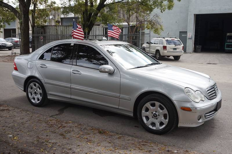 2005 MERCEDES-BENZ C-CLASS C 320 4MATIC AWD 4DR SEDAN silver  call 888-218-8442 for sales