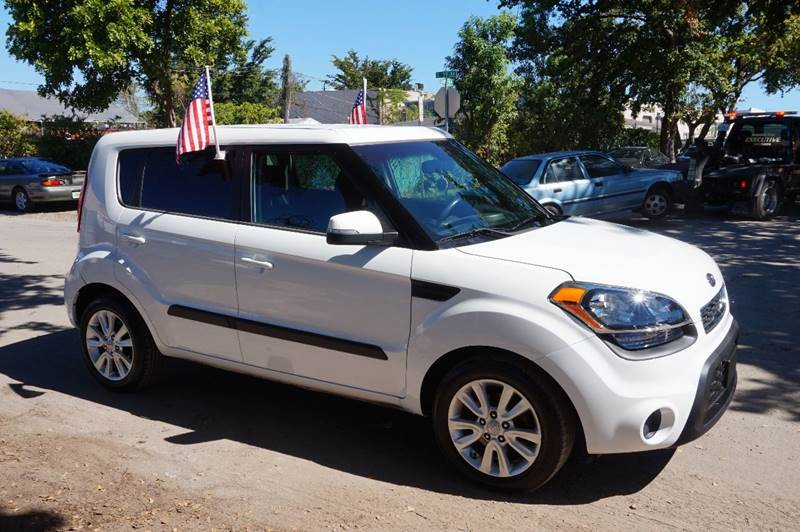 2012 KIA SOUL  4DR WAGON 6A white  call 888-218-8442 for sales   certified gwc warranty in