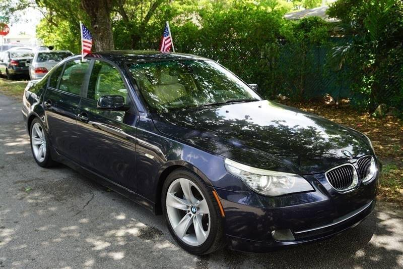 2009 BMW 5 SERIES 535I 4DR SEDAN blue  call 888-218-8442 for sales   certified gwc warranty