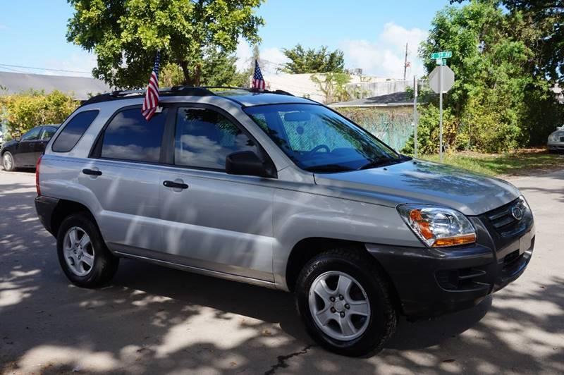 2007 KIA SPORTAGE LX 4DR SUV 2L I4 4A silver  call 888-218-8442 for sales   vehicle price