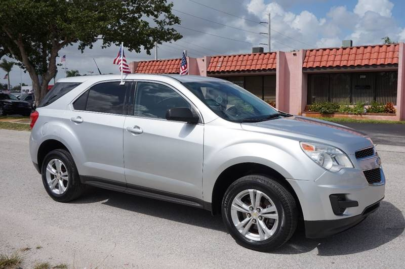 2011 CHEVROLET EQUINOX LS 4DR SUV silver  call 888-218-8442 for sales   certified gwc warra