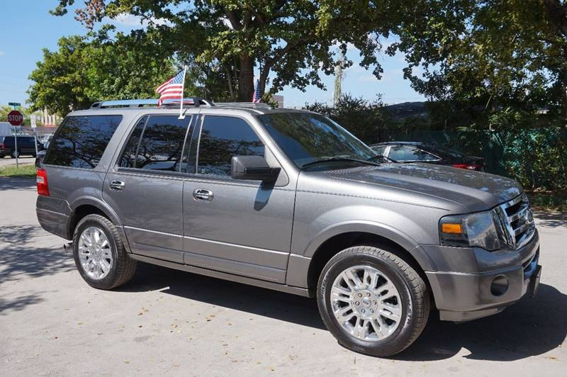 2013 FORD EXPEDITION LIMITED 4X2 4DR SUV gray  call 888-218-8442 for sales   certified gwc