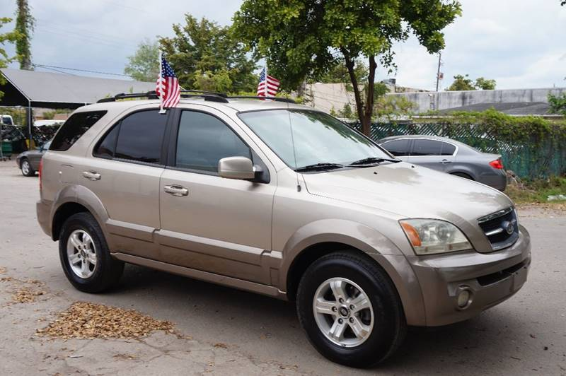 2005 KIA SORENTO EX 4DR SUV gold  call 888-218-8442 for sales   certified gwc warranty incl