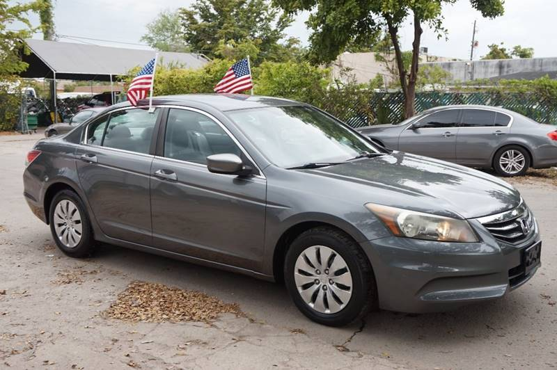 2011 HONDA ACCORD LX 4DR SEDAN 5A gray  call 888-218-8442 for sales   certified gwc warrant