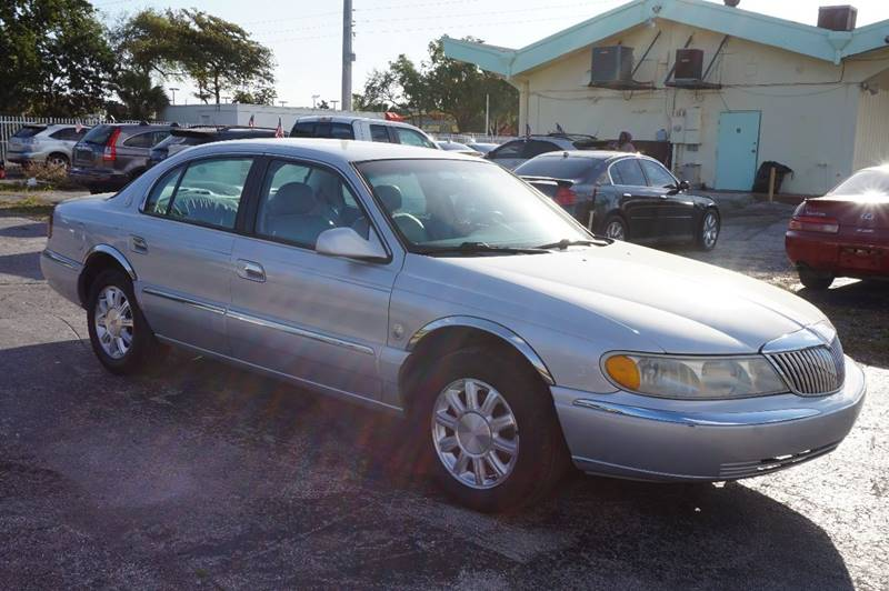 2000 LINCOLN CONTINENTAL BASE 4DR SEDAN silver  call 888-218-8442 for sales  this 2000 linc