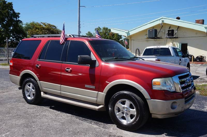 2008 FORD EXPEDITION EDDIE BAUER 4X2 4DR SUV red  call 888-218-8442 for sales   vehicle pri