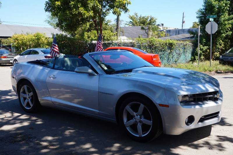 2012 CHEVROLET CAMARO LT 2DR CONVERTIBLE W2LT silver  call 888-218-8442 for sales  this 20