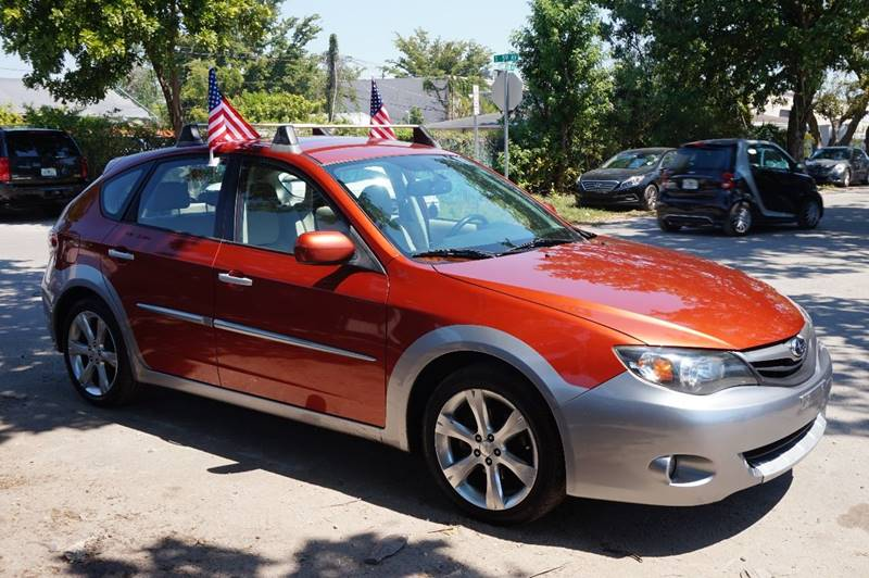 2010 SUBARU IMPREZA OUTBACK SPORT AWD 4DR WAGON 4A orange  call 888-218-8442 for sales   ce