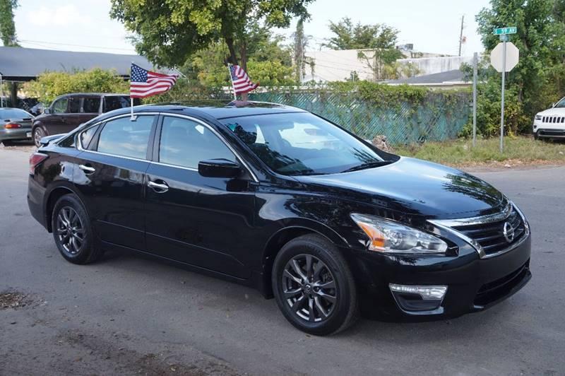 2015 NISSAN ALTIMA 25 S 4DR SEDAN black  call 888-218-8442 for sales   vehicle price inclu