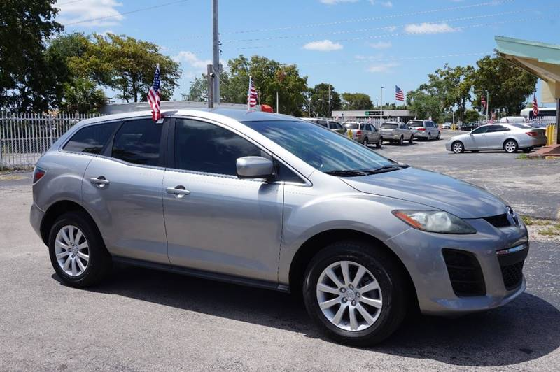 2010 MAZDA CX-7 I SPORT 4DR SUV silver  call 888-218-8442 for sales  this 2010 mazda cx-7 i