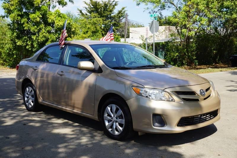 2012 TOYOTA COROLLA LE 4DR SEDAN 4A gold  call 888-218-8442 for sales   vehicle price inclu