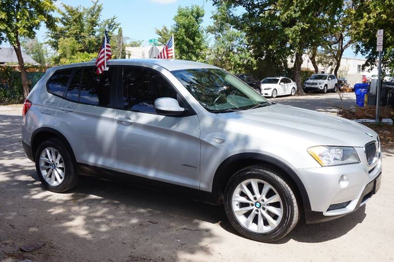 2013 BMW X3 XDRIVE28I AWD 4DR SUV silver  call 888-218-8442 for sales   vehicle price inclu