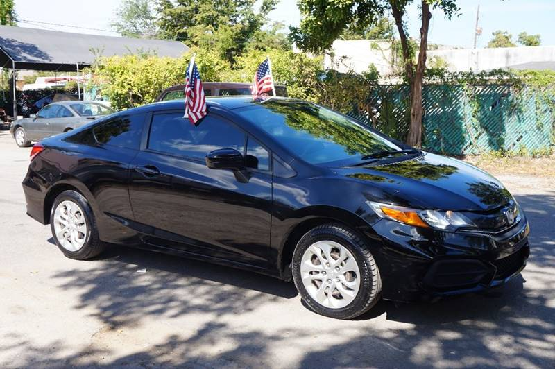 2014 HONDA CIVIC LX 2DR COUPE CVT black  call 888-218-8442 for sales   vehicle price includ