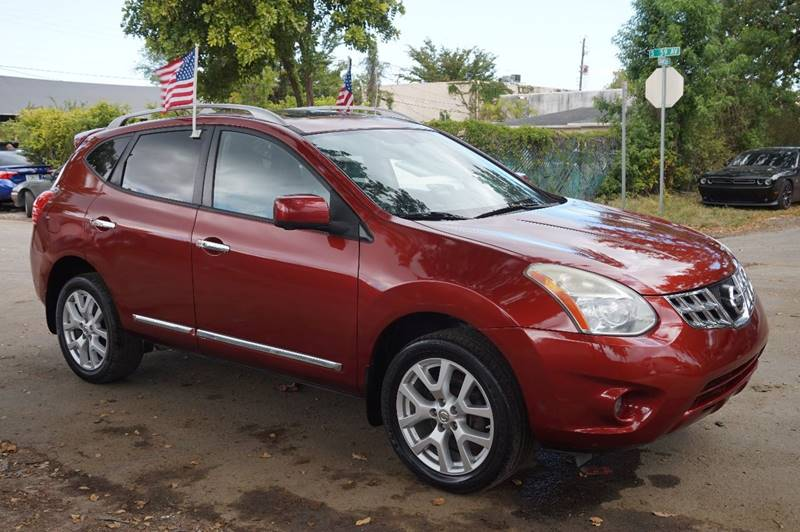 2012 NISSAN ROGUE SV WSL PACKAGE 4DR CROSSOVER burgundy  call 888-218-8442 for sales   veh