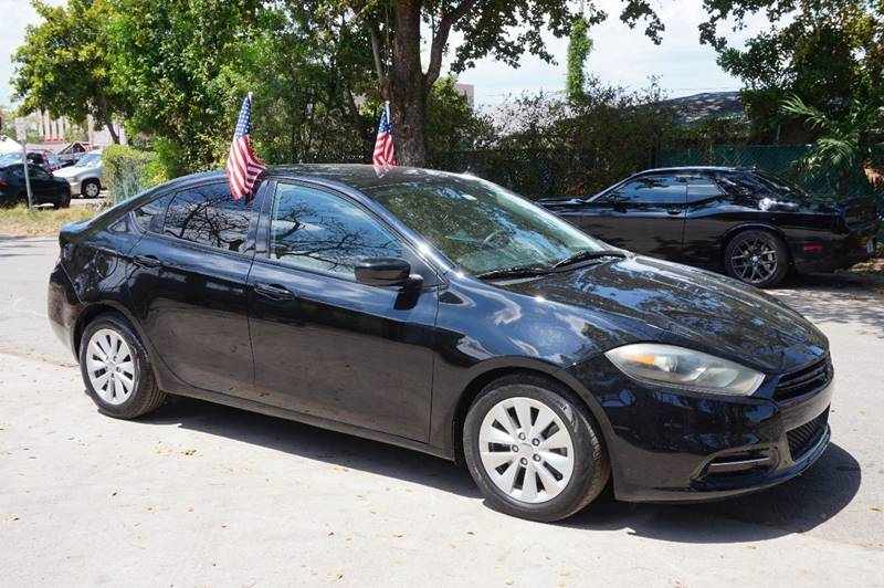 2014 DODGE DART SXT 4DR SEDAN black  call 888-218-8442 for sales   vehicle price includes w