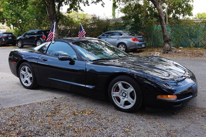 1998 CHEVROLET CORVETTE BASE 2DR HATCHBACK black  call 888-218-8442 for sales  this 1998 ch