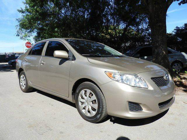 2010 TOYOTA COROLLA LE 4DR SEDAN 4A gold  call 888-218-8442 for sales  this 2010 toyota cor