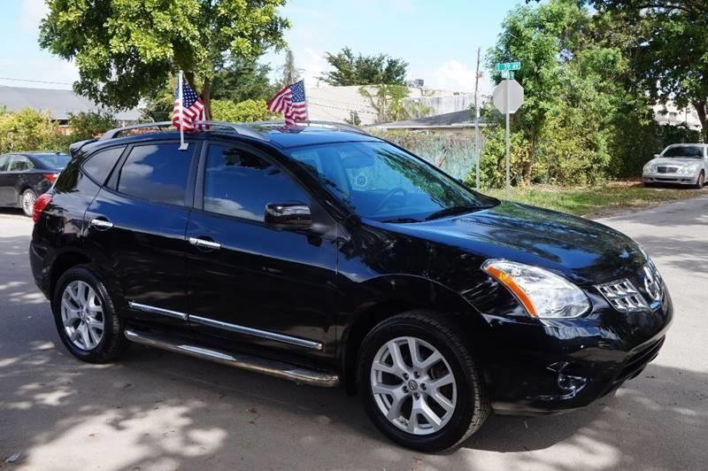 2012 NISSAN ROGUE SV WSL PACKAGE 4DR CROSSOVER black  call 888-218-8442 for sales   vehicl