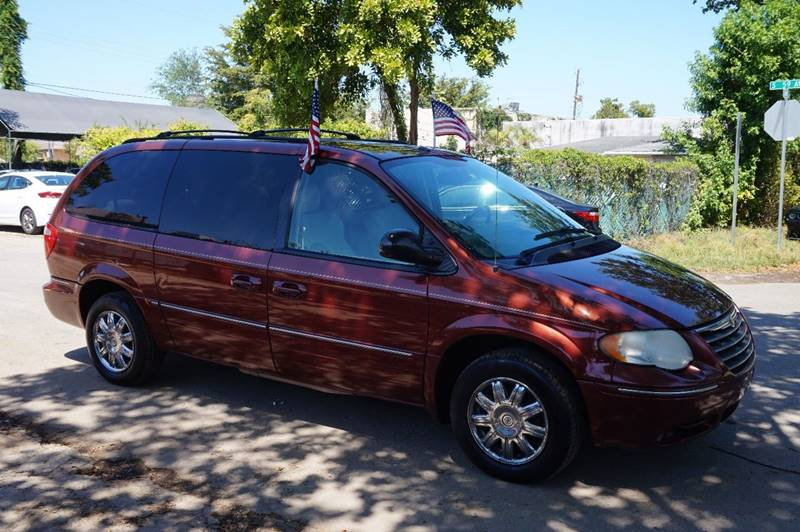 2007 CHRYSLER TOWN AND COUNTRY LIMITED 4DR EXTENDED MINI VAN burgundy  call 888-218-8442 for sa
