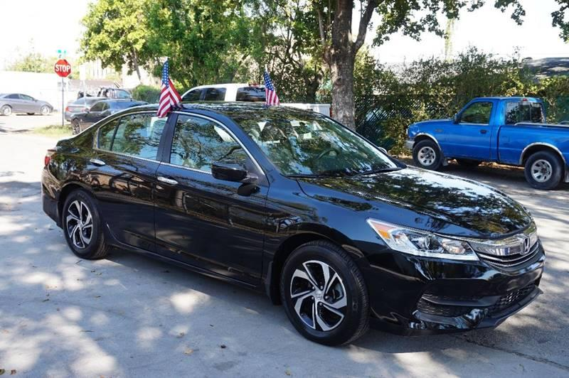 2016 HONDA ACCORD LX 4DR SEDAN CVT black  call 888-218-8442 for sales  this 2016 honda acco