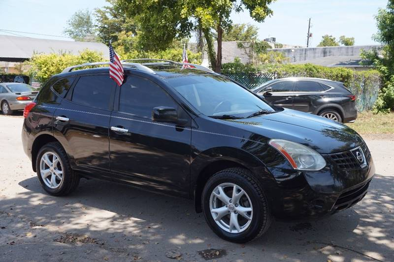2010 NISSAN ROGUE SL 4DR CROSSOVER black  call 888-218-8442 for sales   vehicle price inclu