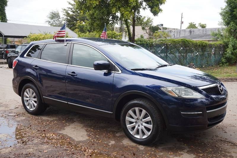 2008 MAZDA CX-9 SPORT 4DR SUV blue  call 888-218-8442 for sales   certified gwc warranty in