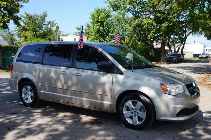 2013 DODGE GRAND CARAVAN AMERICAN VALUE PACKAGE 4DR MINI gold  call 888-218-8442 for sales
