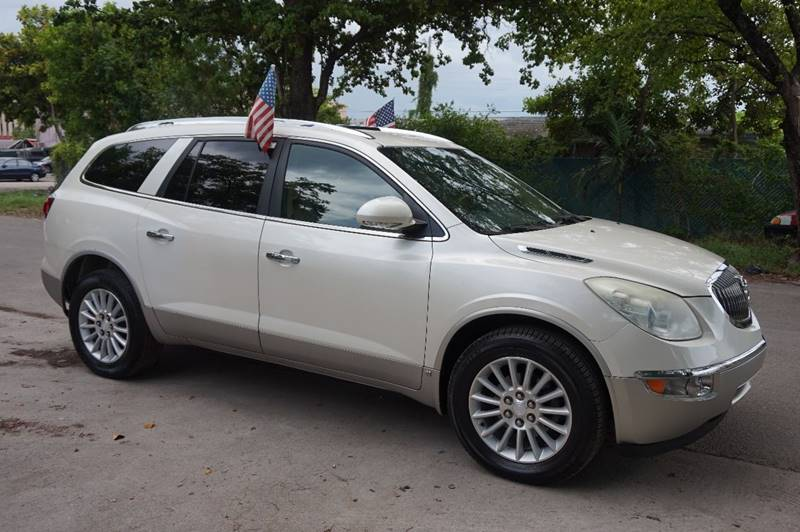 2010 BUICK ENCLAVE CX 4DR CROSSOVER W 1CX white  call 888-218-8442 for sales   this 2010 b