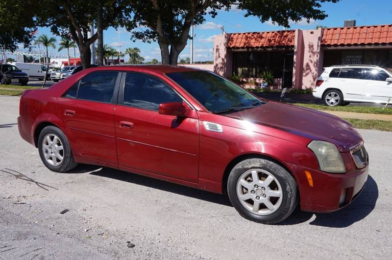 2005 Cadillac Cts 2 8 4dr Sedan In Hollywood FL - SUPER DEAL MOTORS