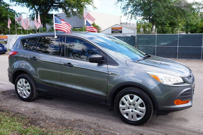 2014 Ford Escape S 4dr SUV In Hollywood FL - SUPER DEAL MOTORS